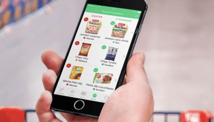 l'application yuka permet de scanner les articles de supermarché